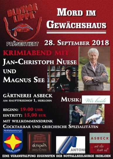 Plakat Iserlohn 2018-2